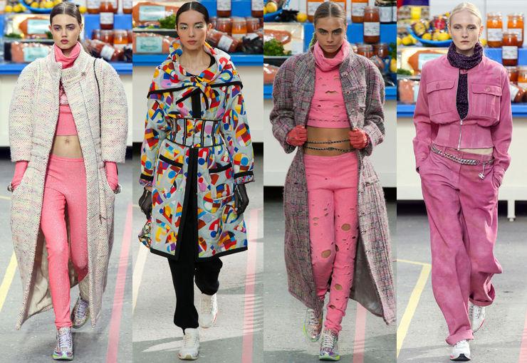 Chanel 2014巴黎秋冬发布