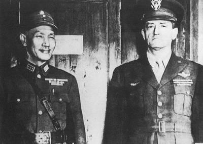 飞虎队 创始人陈纳德 曾亲自驾机对日作战