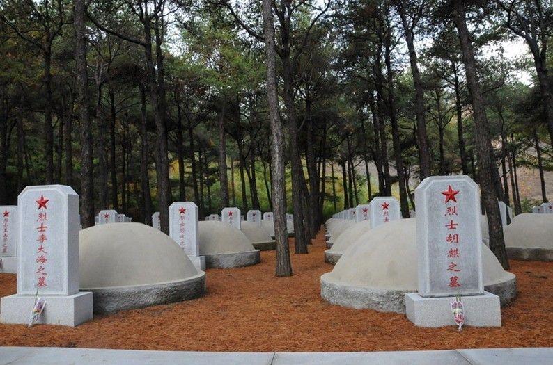 金正恩凭吊毛岸英等中国人民志愿军烈士