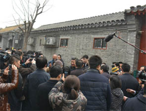 习近平雾霾天在北京视察