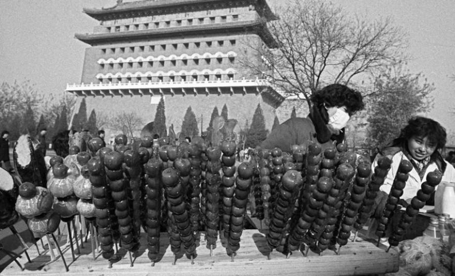 高清旧照 80年代的北京城记忆