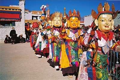 藏历新年场景