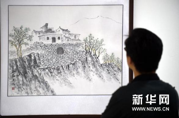 环京津河北历史文化名镇名村绘画展在河北霸州开展