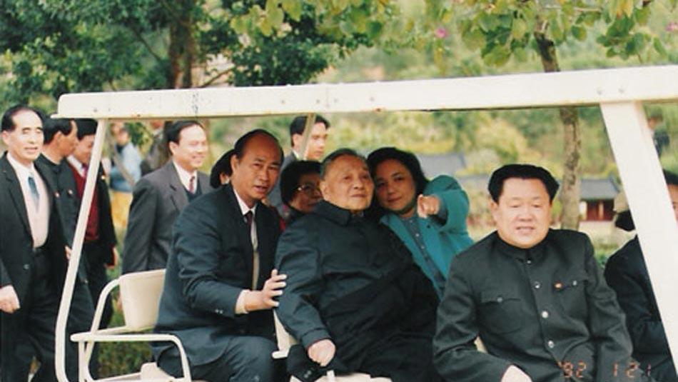 1992年邓小平南巡照片
