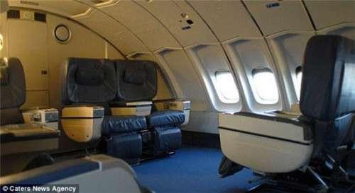 座位的喷气式飞机改造成的独特酒店——这里的客人住在一架波音747上.