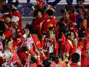 奥运闭幕 中共中央国务院向中国代表团致贺电