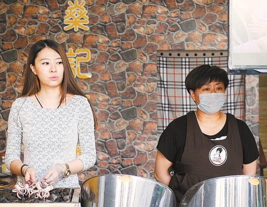 宁夏美女硕士弃编辑工作卖烤鱿鱼 日均销售额