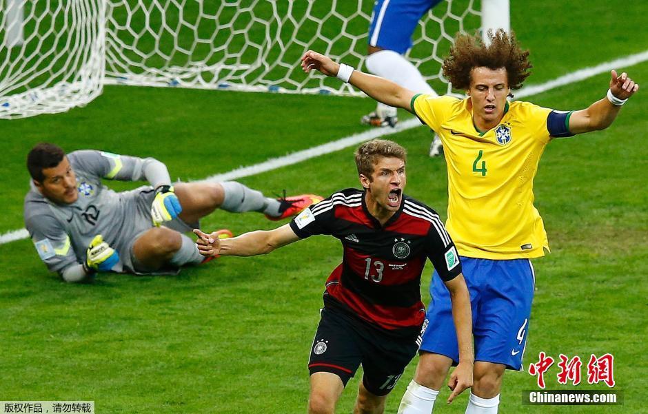 高清图 世界杯巴西队1 7惨败德国 球迷惊愕痛哭图片