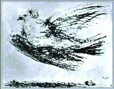 毕加索《和平鸽》高清图片