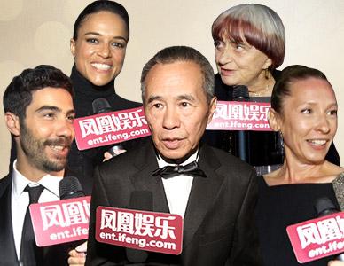 凤凰娱乐独家对话戛纳电影节获奖群星