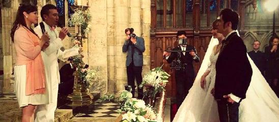 周杰伦昆凌婚礼现场曝光 浪漫温馨堪比童话世界
