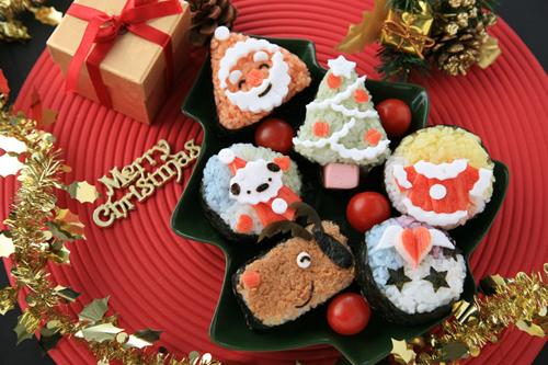 崇尚西方时尚的国度,圣诞美食在主妇的巧手下变得惟妙惟肖,活泼可爱.