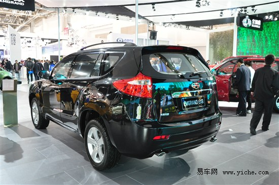 吉利新车计划曝光 将推全新MPV帝豪EV8高清图片