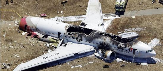 韩美就韩亚客机失事原因存意见分歧