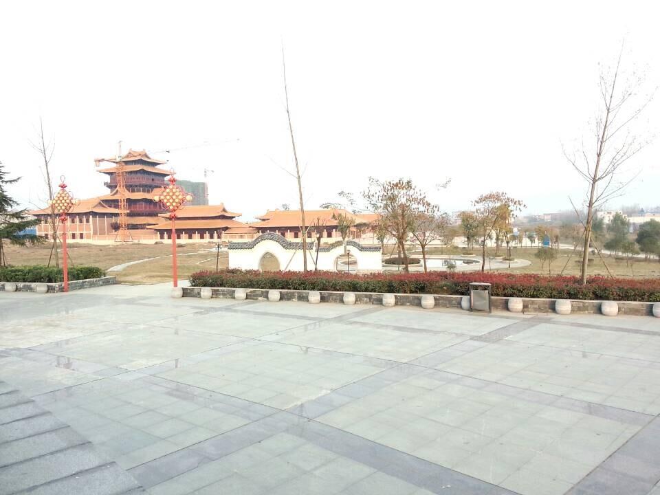 凤凰河南活动组走进固始根亲文化公园