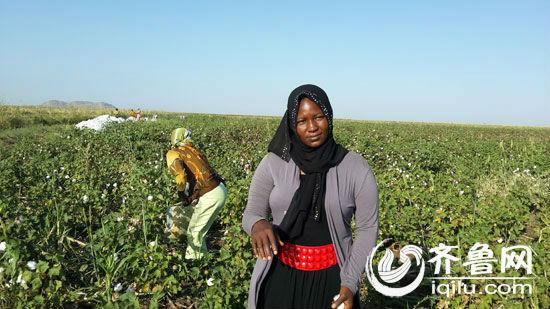 法提玛是苏丹中天国际聘用的质量管理员1