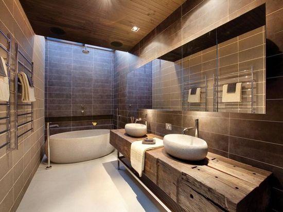 30款现代风格装修案例 让你的浴室变成奢华私人天堂
