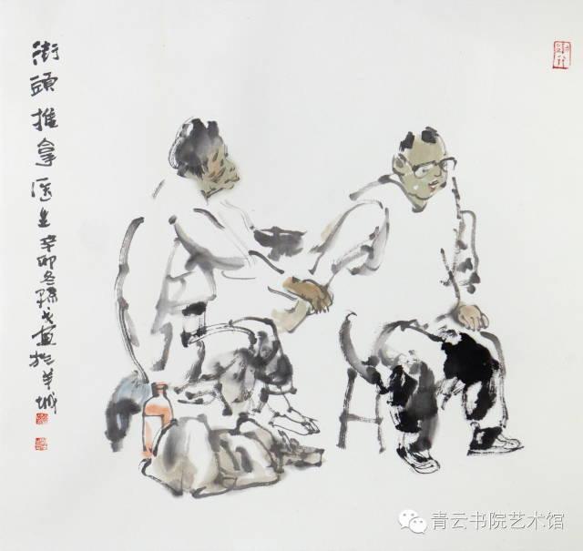 """孙戈,一位出自东北的""""岭南人"""", 30多年来扎根岭南,其画风刚柔并济,富有南北交融的特色。凭借速写起家的他,造型功底扎实,有很强的写实能力,继承了蒋兆和、徐悲鸿、黄胄以及浙派等当代人物画的水墨技法。孙戈关注民生的大众情怀,尤其反映在他对普通人现代生活精神面貌的描绘上,也反映在孙戈的名人肖像、军旅生涯、时尚生活、异域印象以及渔家乐等多种题材的表现上。其主要作品有国画《新兵》、《硝烟初散》、《大海的呼唤》、《风雨木棉红》、《彩色的天空》等;出版物有作品集《岁月无声》、《孙戈人物画集》等"""