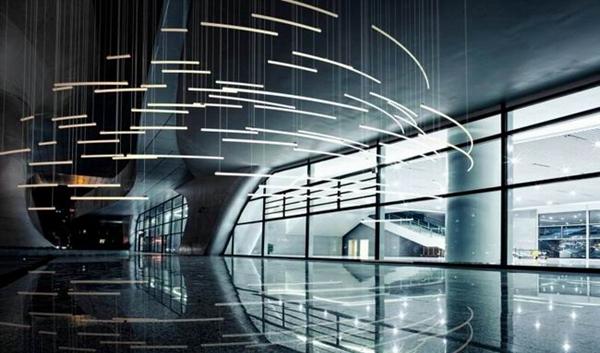 向装置艺术靠拢的设计 用灯具点亮城市与心灵
