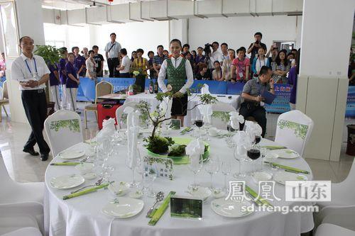 2014全国职业院校技能大赛中餐主题宴会设计大赛举办图片