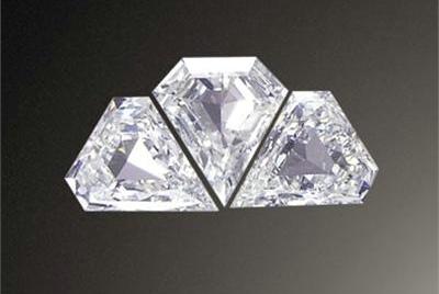 一般的异形钻石有枕形钻,方形钻,梨形