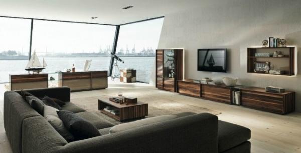 ,轻薄的材质,流线型的设计,和整个现代家居相融合.家具的设计图片