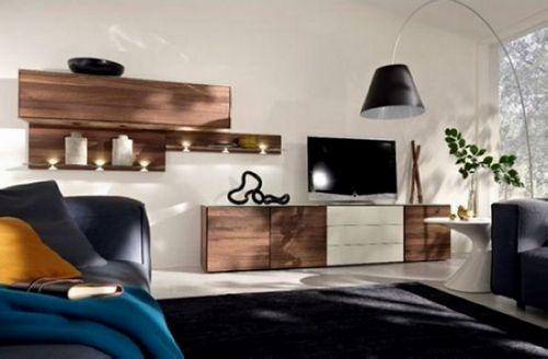 Hülsta木制电视柜:简洁又不失味道的家具设计