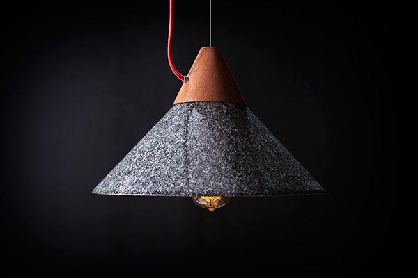 石器时代照明工具创意 极具历史感的吊灯设计图片