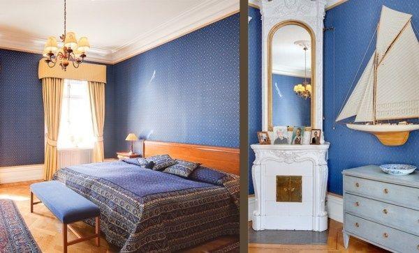 魅力蓝与气质黄混搭 温馨两居室让人舍不得离开