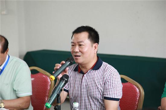 广东省门业协会走进大华木器与奇田木业