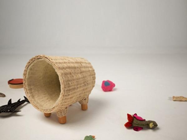 萌娃福利 编织柳条儿童家具创意设计