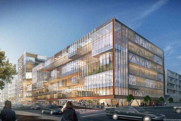 Uber拟建新总部:采用玻璃幕墙双塔设计