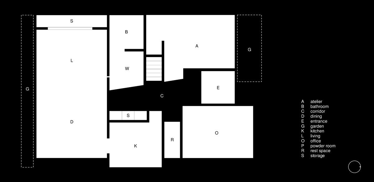 房子平面图简单画法
