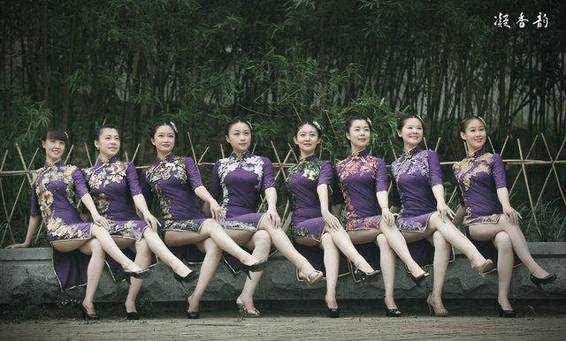 舞蹈系美女演绎秦淮歌女