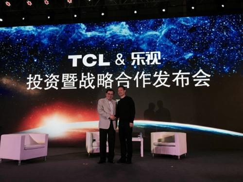 "TCL乐视""恋爱""四个月后联姻 目标是国际化"