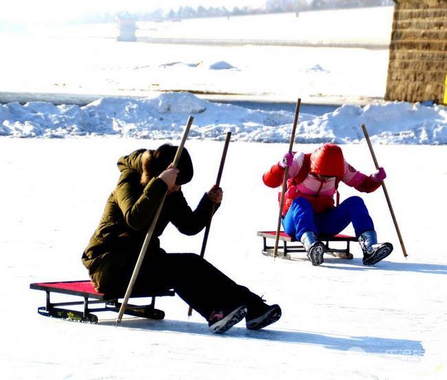 雪爬犁的制作图片