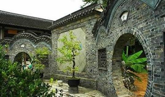景观白石雕刻小桥手绘