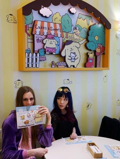 [卡通壁纸]奇趣客|日系最萌动漫主题餐厅和周边产品