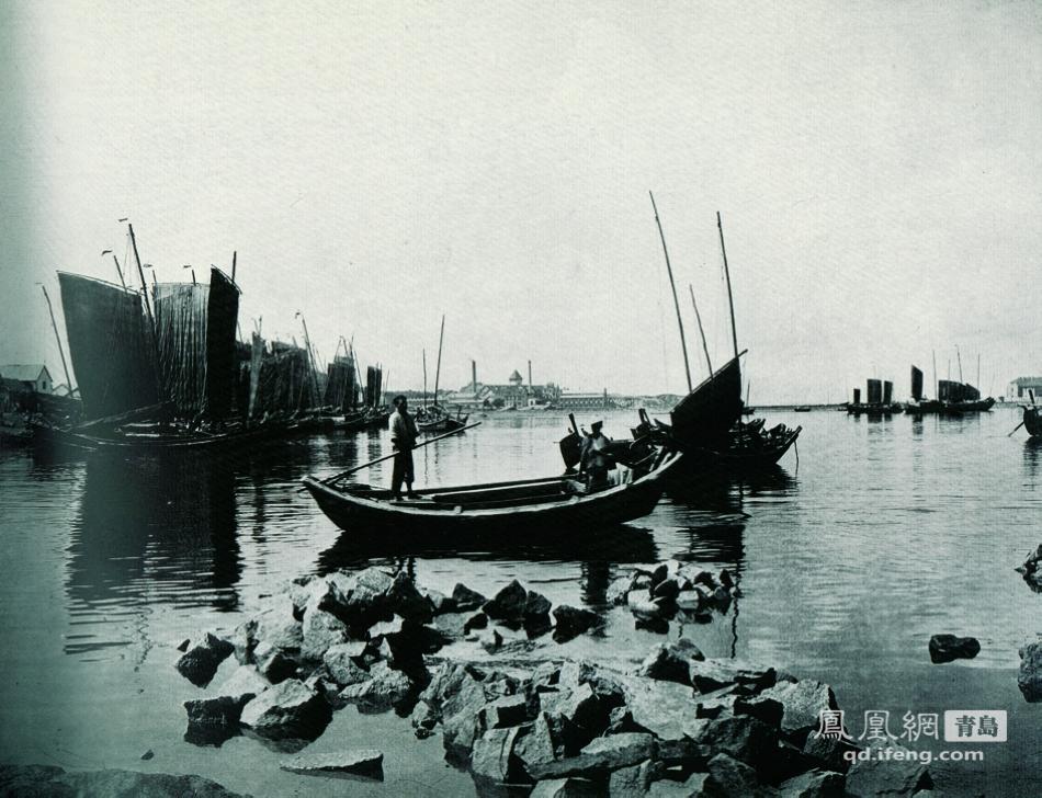 15/29 小港.港口建设是青岛开埠后优先发展的方向,筑港与建城并举.