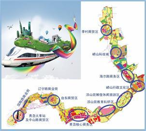 """青岛地铁双线并进 地铁线网打通城市""""金脉"""""""