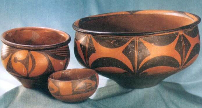 大地湾遗迹——中国最早的彩陶