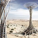 迪拜未来科幻建筑