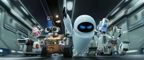 《机器人瓦力》是一部看一百遍就会被感动一百次的动画片