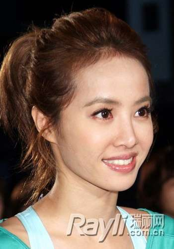徐若瑄林志玲发型减龄逆转时光图片