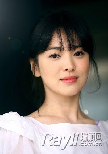 宋慧乔尹恩惠 韩剧女神微卷发温柔可人