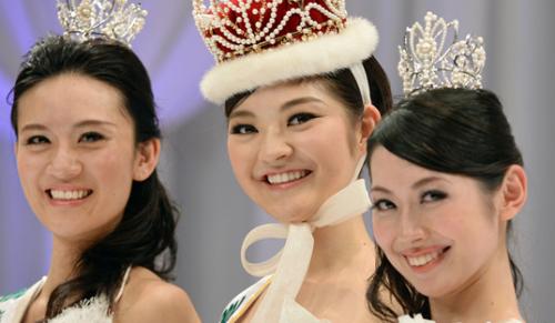 日本选美大赛冠军出炉 网友:太丑了