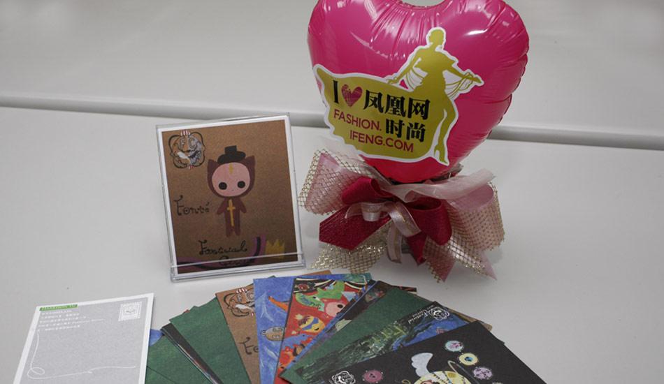 小王子画作的明信片