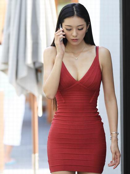 重庆美女 被称中国第一黄金比例身材
