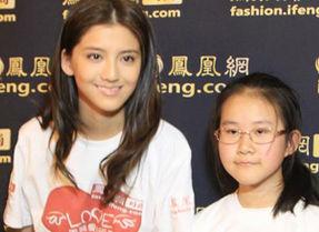 2013年4月12日美丽爱心行动香港行:吴千语力挺儿童梦想