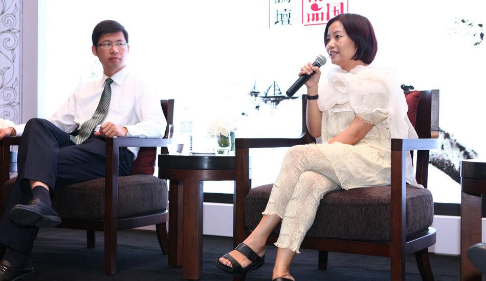 玫瑰坊品牌创始人:郭培。阐述玫瑰坊精品的发展之路。